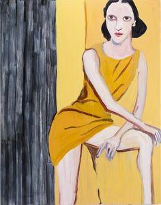 Chantal Joffe - 'Golden Woman'