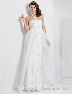 - Custom Made! White Chiffon Halter Evening Dresses Evening Dresses | Buy Wholesale On Line Direct from China