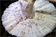 Boston Ballet's Sugar Plum Fairy wears two costumes in Mikko Nissinen's The Nutcracker. The first is Snow!