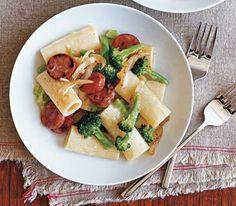 sausag, chicken recipes, pasta recipes, food, broccoli recipes, dinner recipes, pasta dinners, dinner tonight, weeknight meals