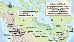 Coast to Coast Rail Adventure (eastbound) | Canada Rail Vacations