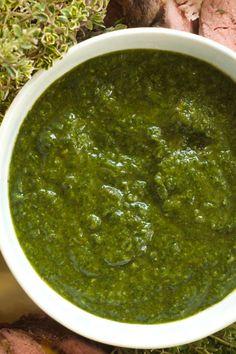 Chemichurri Sauce | reluctantentertainer.com