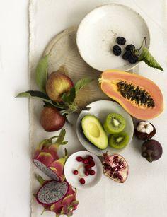 FRUIT!! CHRISTOPHER BAKER: New Work Bon Appetit and Whole Living Nov 2011