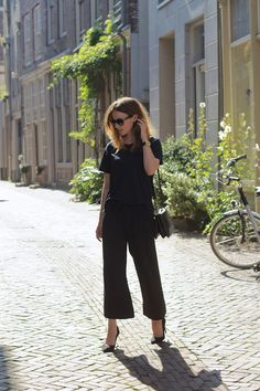 all black outfit #minimal #outfit #style #wardrobeessentials