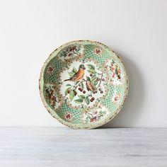 Antique dish, beautiful colors