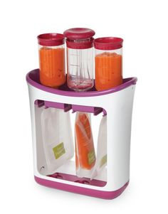 Squeeze Station: Put your own baby food in travel pouches.
