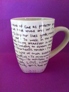 phi mu mug