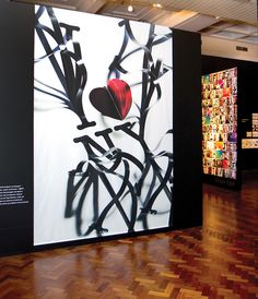 view of the 'tipocriaturas' exhibition, 2011 by oded ezer