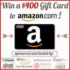 Thru Nov. 7th, 2013: $400 Amazon Gift Card Holiday Giveaway!!