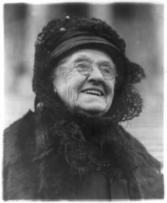Senator Rebecca Latimer Felton (1835 – 1930) was the first woman to serve as a United States Senator in 1923. (Pic from 1922, what a smile!)