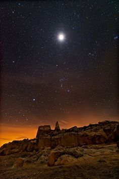 lunar eclipse over Fort Collins, Colorado | Mike Menefee Photography