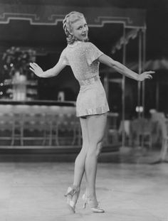 Ginger Rogers....those legs!