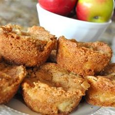 "Apple Brownies | ""I won't worry about whether this is a ""brownie"" or not because these moist bars are SO delicious!"""