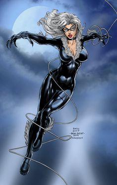 super, cat art, hero, comic marvel, black cats