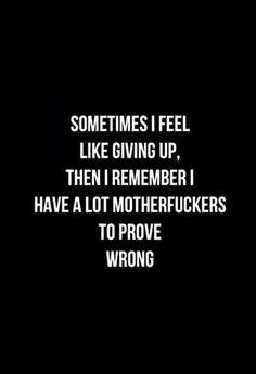 Pardon the swear word, but true story....