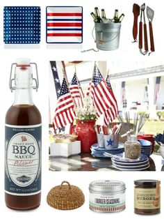 4th of July Grilling and Cookout Essentials #4thofjuly #grilling #BBQ #party #redwhiteblue #cookout