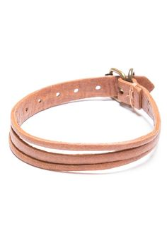 Brandy ♥ Melville | Brown Leather Bracelet - Jewelry - Accessories