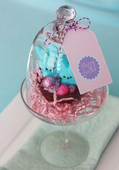 edible easter basket- bunnies