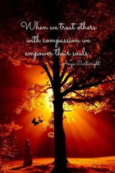 Insight: radiant with compassion