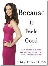 Sex.. because it feels good!  www.sexbutter.net wonderful book