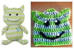 Peekaboo monster Hat by Karohook on Etsy, $12.00