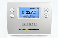 Energate's Foundation Smart Thermostat and Home Energy Gateway