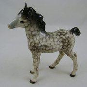 Beswick Rocking Horse Grey Foal 1084