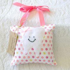 Girls Tooth Fairy Pillow $15.00 #kids #tooth #fairy #pillow #decor #girls