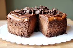 Decadent Chocolate Cheesecake | Mel's Kitchen Cafe