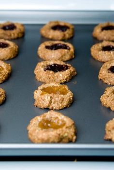 Thumbprint Cookies #vegan