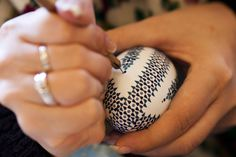 Sorbian women craft ornate Easter eggs eastern europe, news, folk, dresses, egg decorating, germany, easter eggs, egg art, crafts