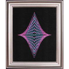 String Art Fun Free Diamond Pattern 1