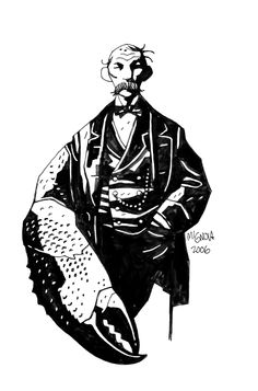 Man with a Claw by Mike Mignola