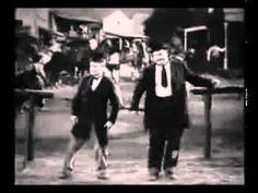 Laurel and Hardy dancing to Santana