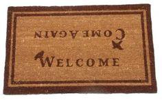 Coir Welcome Come Again Doormat