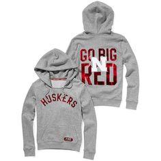 WANT!!!!!! BAD!!!! Victoria's Secret University Of Nebraska Bling Pullover Hoodie - Polyvore