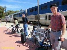 North by Train to SLO, South Back Home by Bike — Bike Overnights