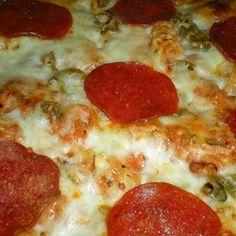 Crock Pot Pizza Casserole
