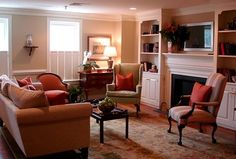 Colonial Living Room Design, Pictures, Remodel, Decor and Ideas - page 3