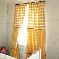 Sweet Summer Curtains!