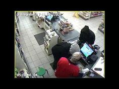 Police seek two suspects who robbed the 7-11 at 107th and Blue Ridge Blvd. in Kansas City.  On 12/27/12 at about 5:13 am, the 62 year old store clerk was robbed at gunpoint by 2 unknown black males. The suspects lured the victim to the register by pretending to want to make a purchase, pulled out a gun, and took the cash from the register drawers. The suspects were last seen leaving the area of the store on foot.  Anyone with info is urged to contact the TIPS Hotline at 816-474-TIPS (8477). surveil video, store clerk, black male, crime fighter