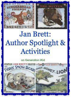 Jan Brett: Author Spotlight and Activities