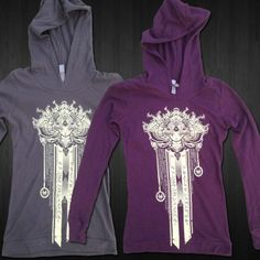 Image of Tetranine - Female Soft Thermal Hoody Plum Small