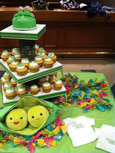 -Two Peas in a Pod Baby Shower-