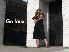 DIY Faux Fur Wrap