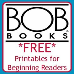 BOB Books Worksheets!! Izzy will love this!
