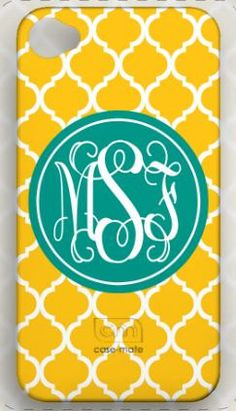 How cute is this?!  Personalized cell phone case. Southern Belle Boutique on Etsy. Would love this for when I get a new phone!