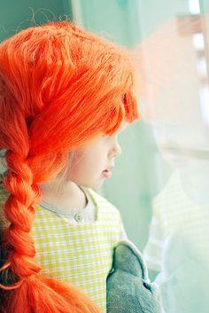 Pippi Longstocking costume....