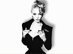 ivy levan in Lloyd Klein feature  Pinned from @Glossi, a free digital magazine creation platform
