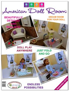 American Girl Doll Crafts and Fun!: American Doll Room Review